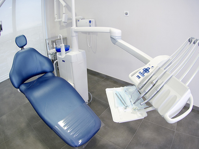 歯科医院の治療椅子